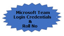 Microsoft Team Login Credentials